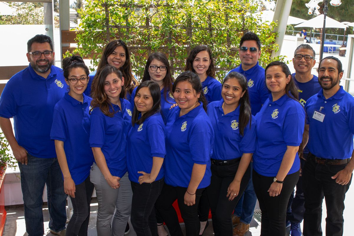 Luskin Latinx conference organizers
