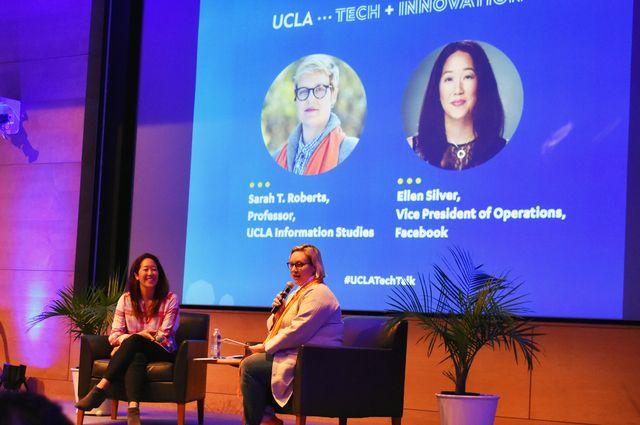 Sarah T. Roberts and Ellen Silver Tech Talk