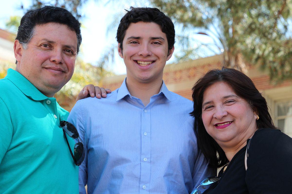 William, Kevin and Nora Herrera