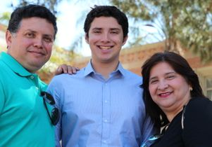 Click to open the large image: William, Kevin and Nora Herrera