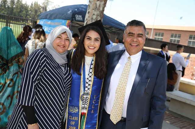Family celebrates commencement