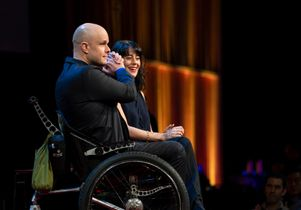 Mark Pollock, Simone George at TED