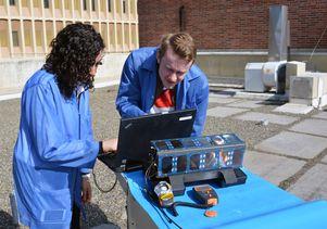 ELFIN solar cell testing