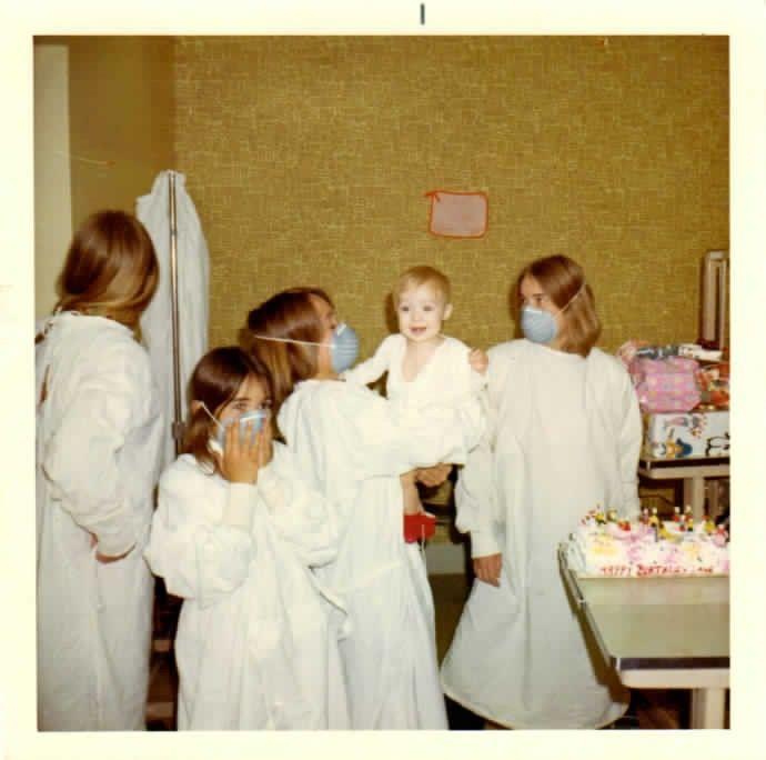 Maurice Elias first birthday