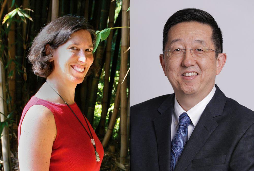 Nancy Wayne and David Yoo