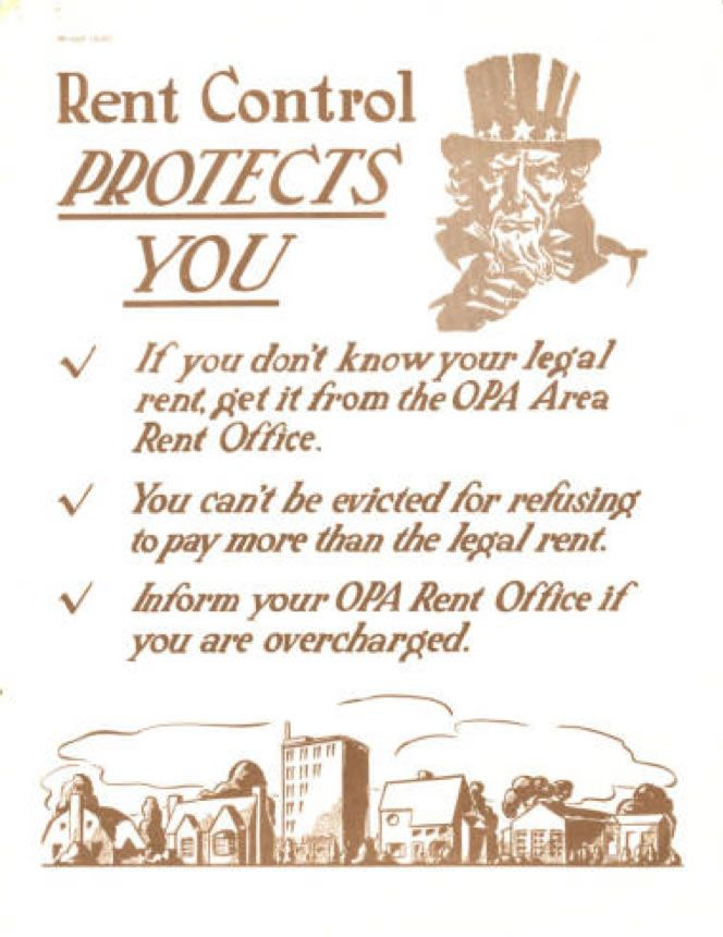 Rent Control Protects poster