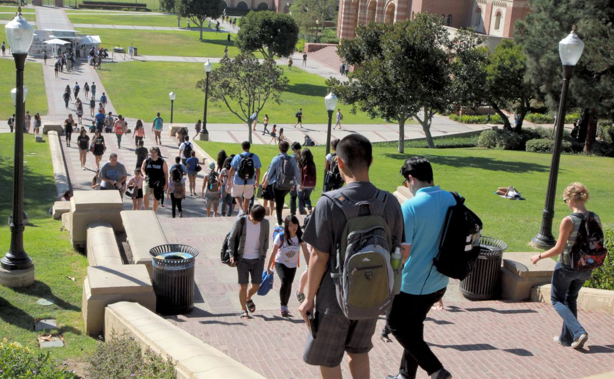 UCLA named No  2 U S  public university in Times Higher