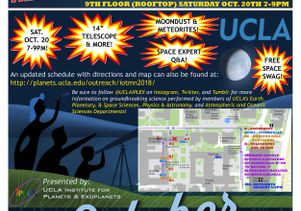 UCLA Moon Viewing Poster