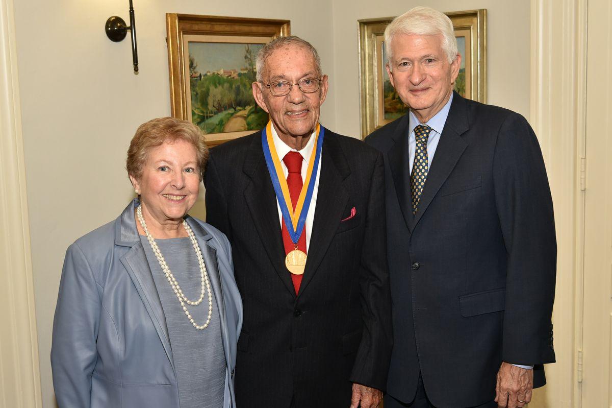 Carol Block, Morton La Kretz, Chancellor Block