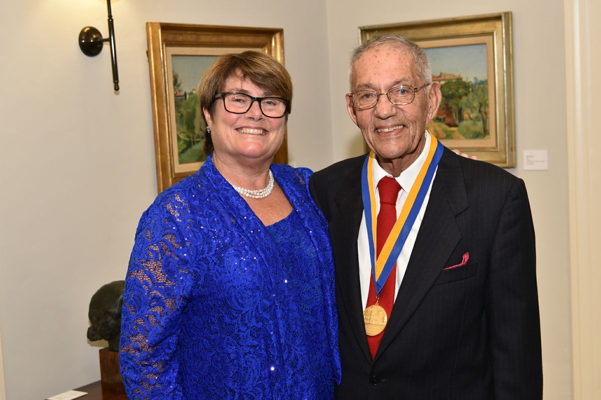 Victoria Sork and Morton La Kretz