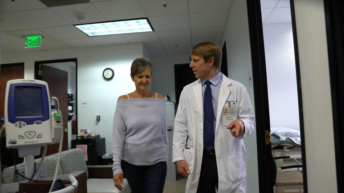 Dr. John Timmerman and Denise Delatorre