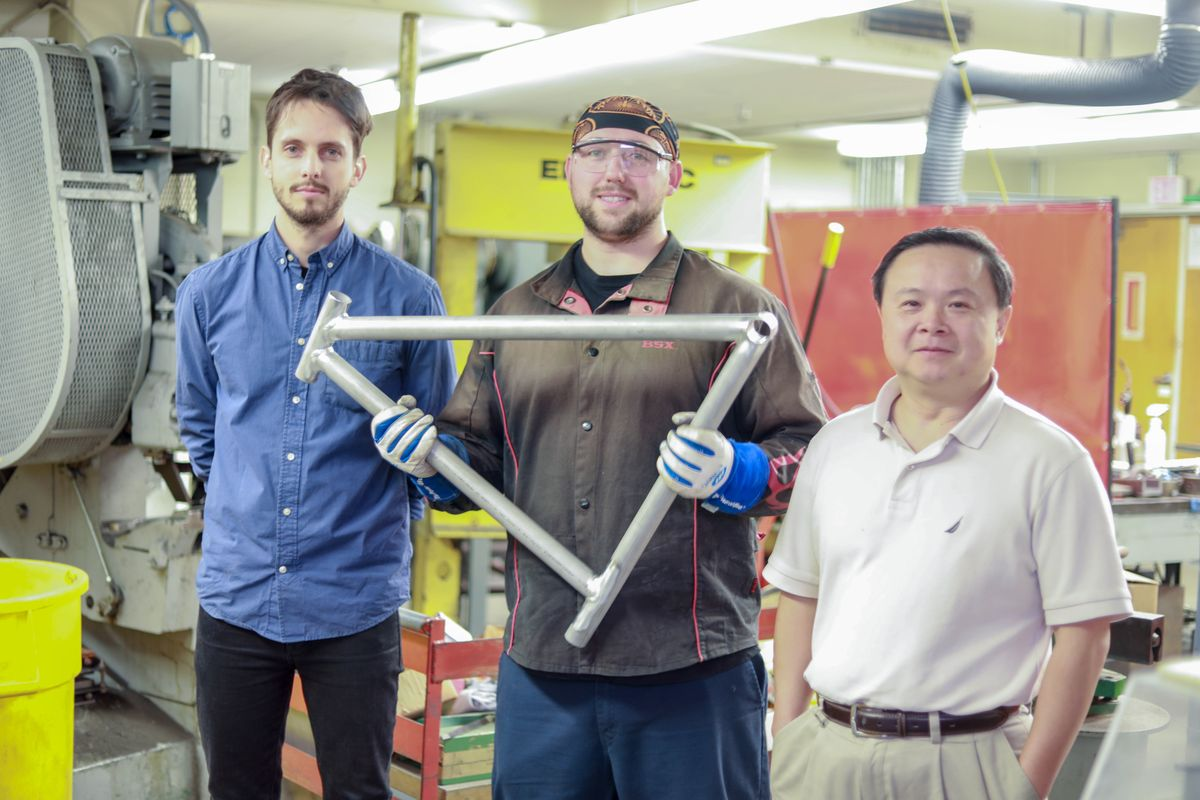 UCLA engineering welding researchers