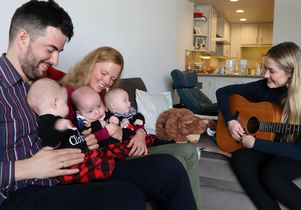 Music therapy and Gallus triplets