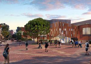 Mo Ostin Academic Center rendering