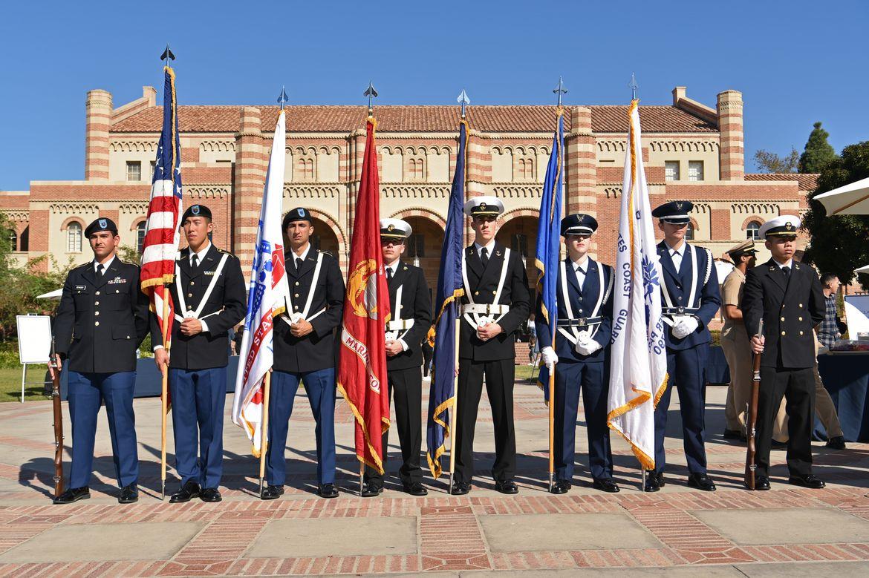 Veterans Day ceremony 2019