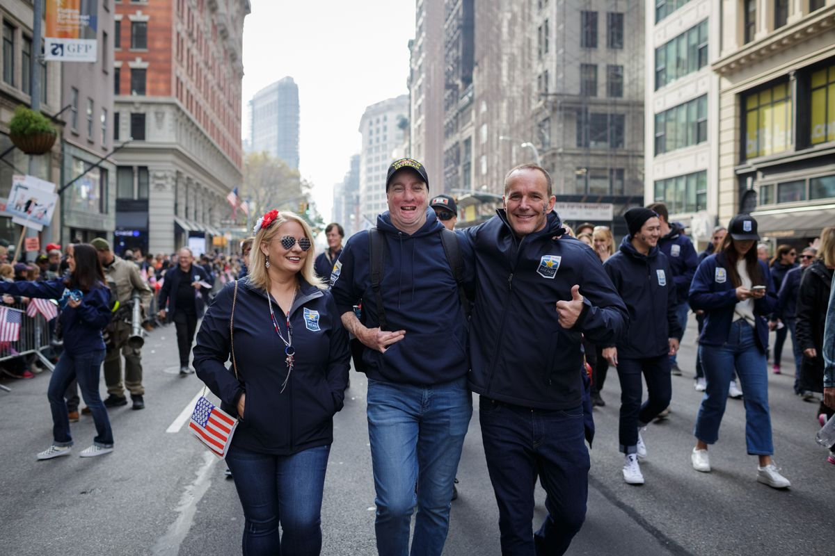 Operation Mend Vets Day parade 2019