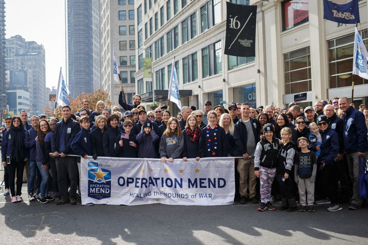 Operation Mend Veterans Day parade 2019
