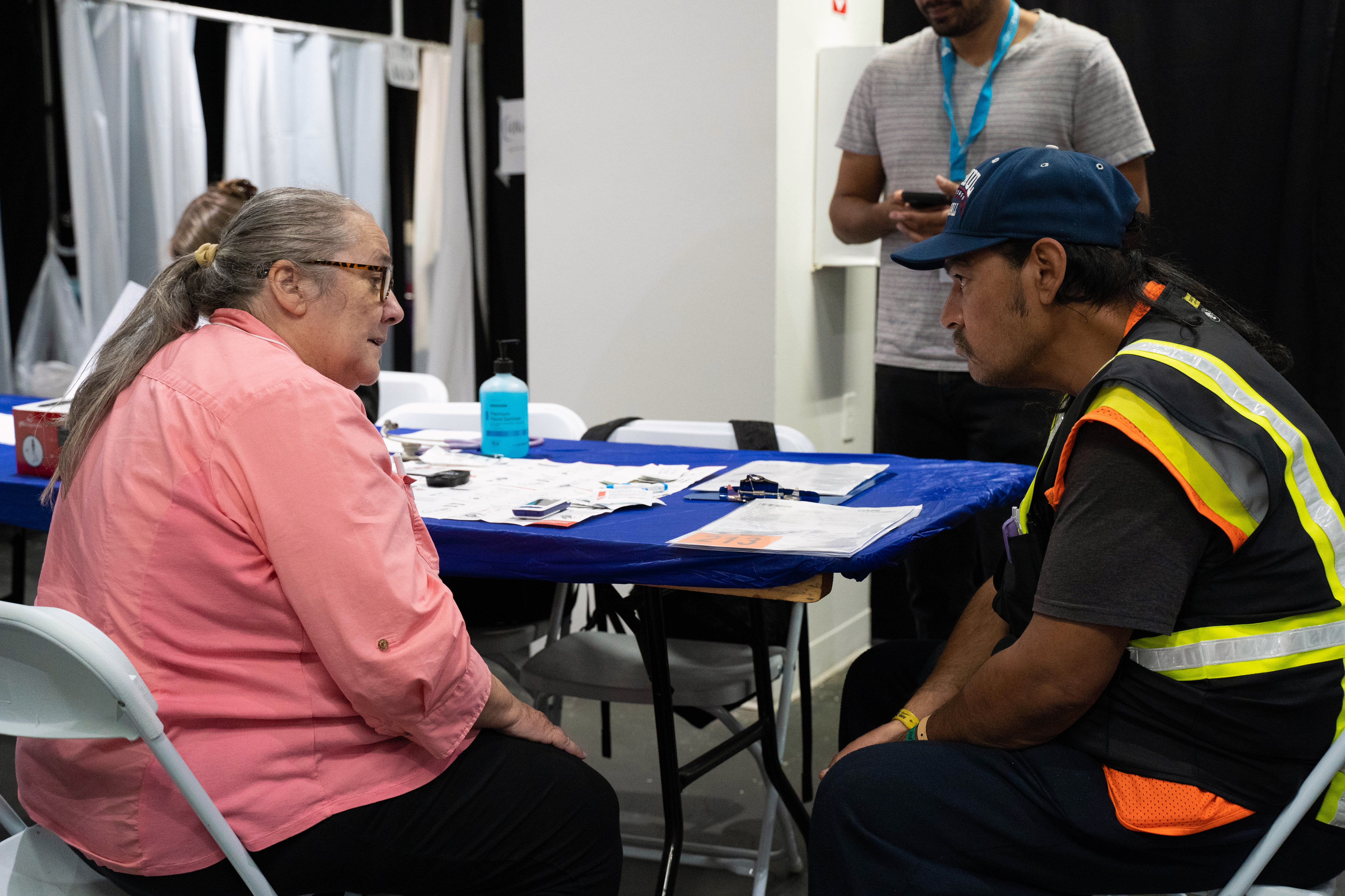 More than 300 UCLA health care providers treat the homeless at Care Harbor free clinic