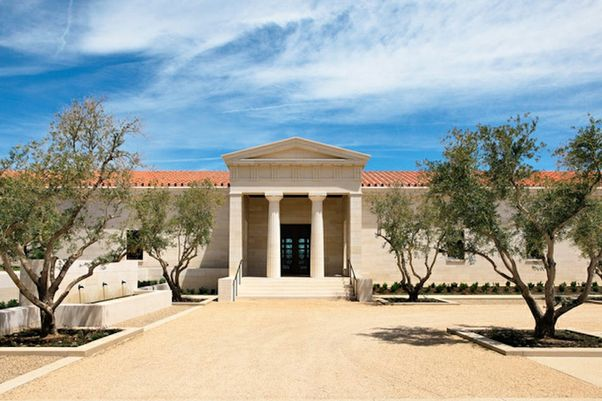 Click to open the large image: Packard Humanities Institute's Stoa