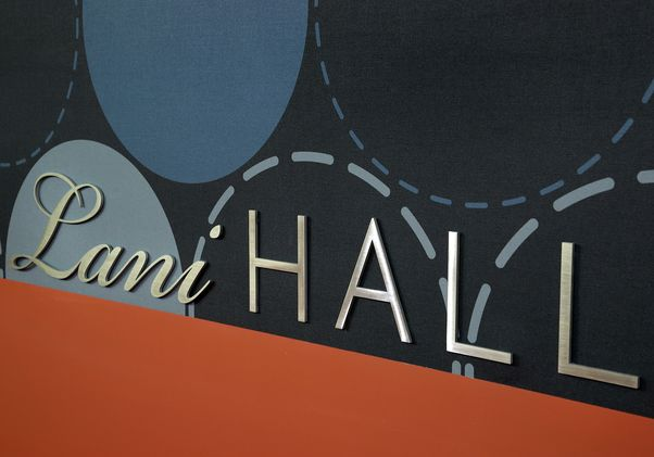 Lani Hall sign