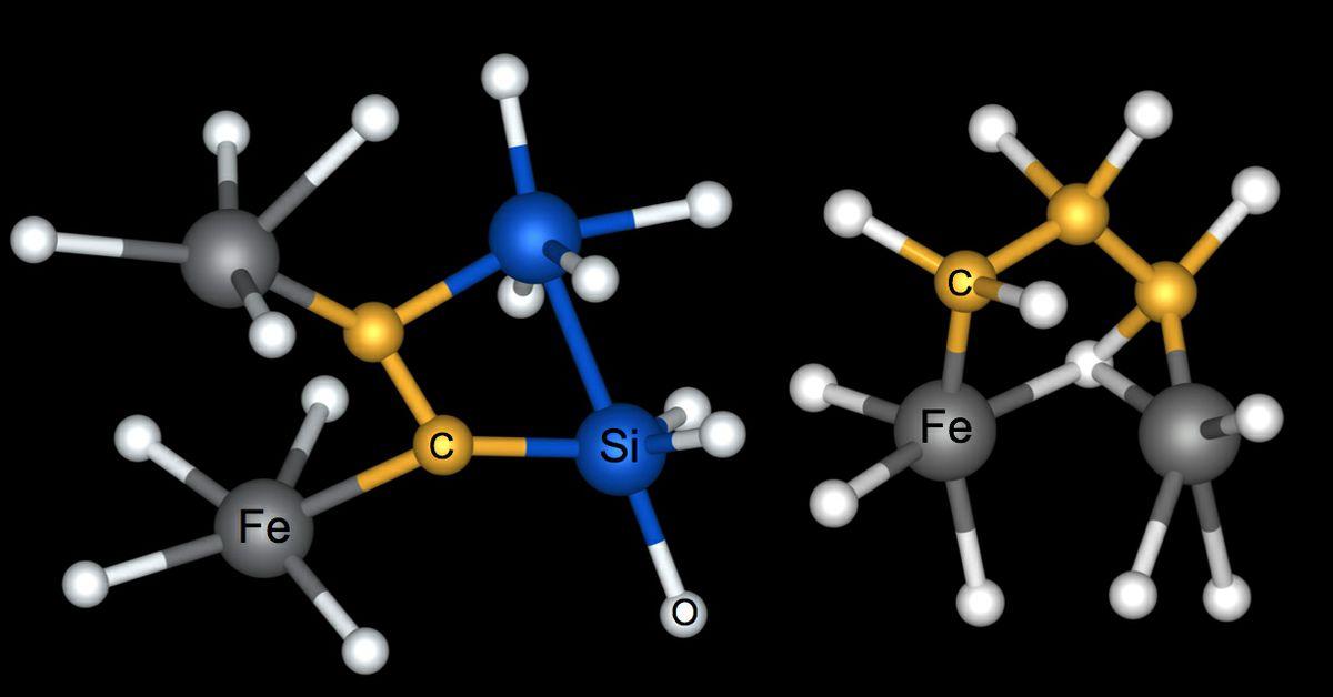 Carbon iron silicon oxygen