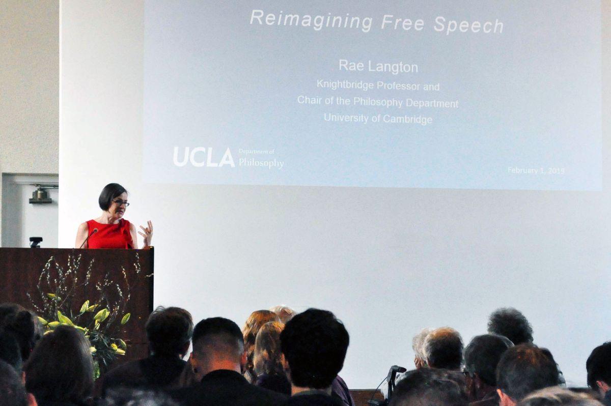 Rae Langton lecture