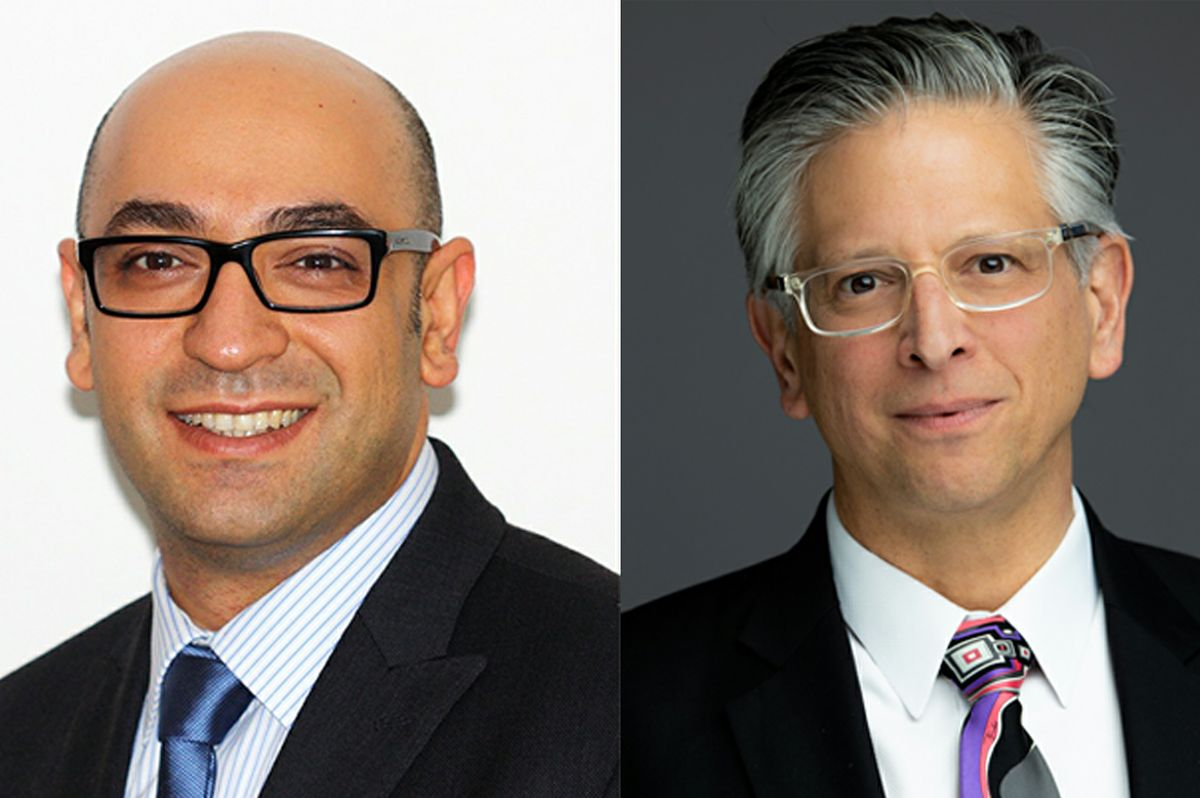 Alireza Moshaverinia, left, Paul Weiss