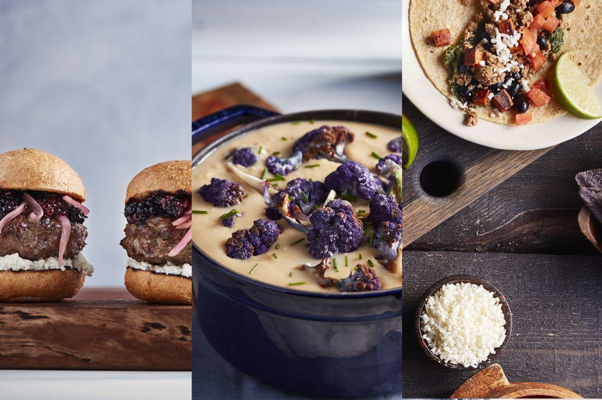 Bruin Plate Cookbook foods