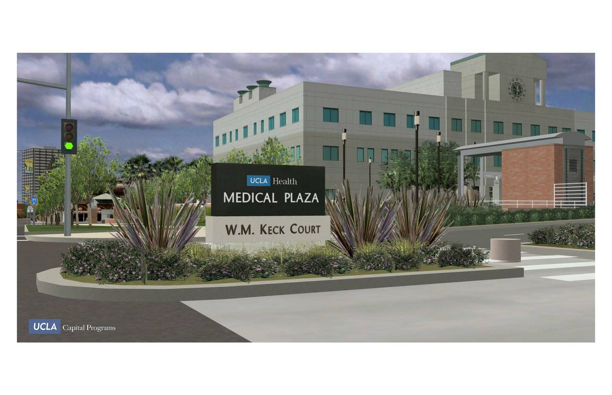 WM Keck Court at UCLA Medical Plaza
