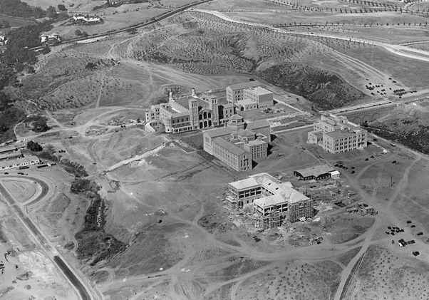 UCLA aerial photo, 1929