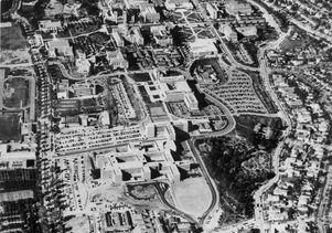 UCLA aerial photo, 1955