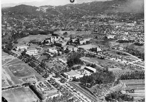 UCLA aerial photo, 1940