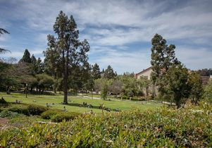 Student Activities Center from Janss Steps