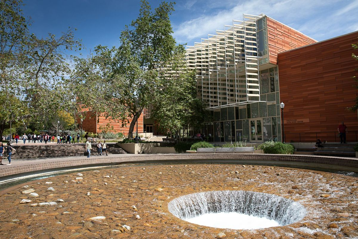 UCLA Herb Alpert School of Music and Inverted Fountain