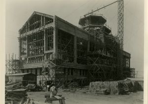 Powell Hall under construction