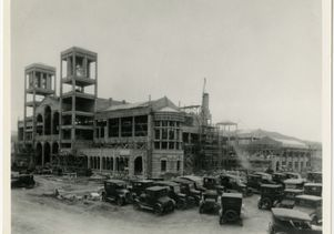 Royce Hall construction