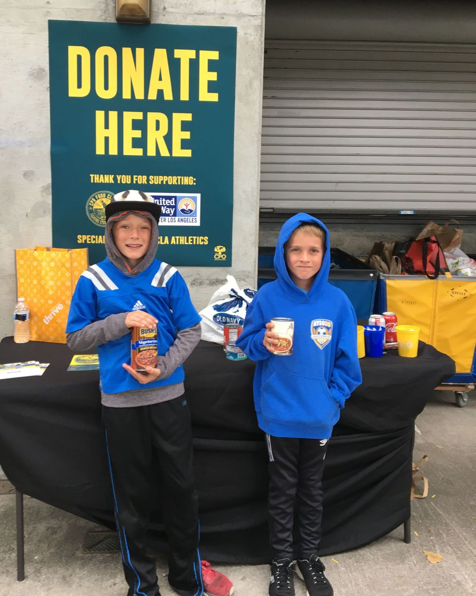UCLA Football Food Drive II