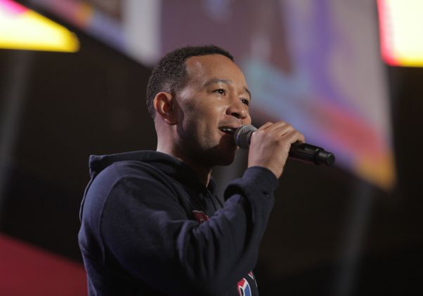 John Legend at College Signing Day