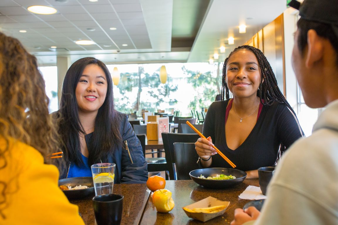 Students at UCLA Feast