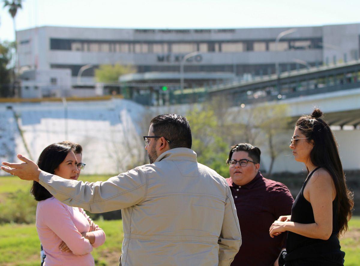 Nuevo Laredo border