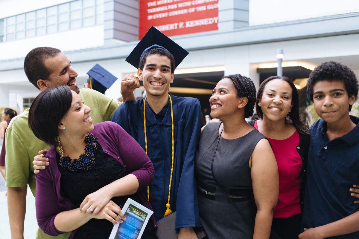 RFK Community School graduation