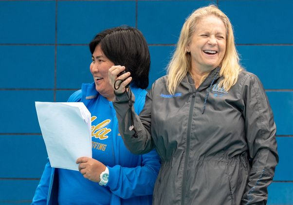 Cyndi Gallagher and Naya Higashijima