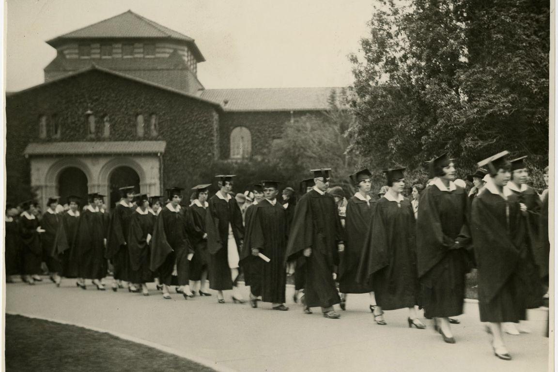 Vermont Avenue campus commencement