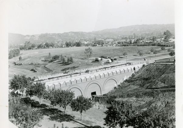 Arroyo bridge in 1947