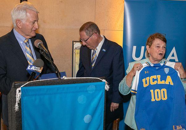 Sheila Kuehl UCLA 100