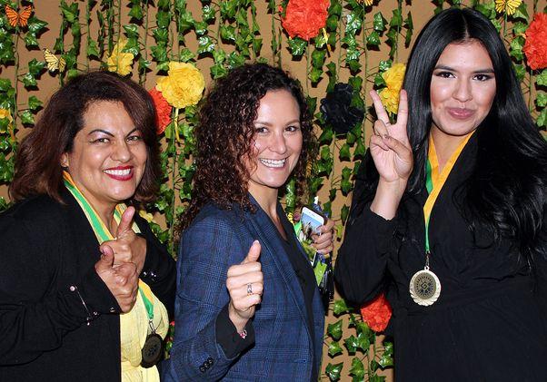 Zuma Sharpe, Llanet Martín and Dana Herrera