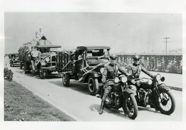 Moving Day motorcade 1929