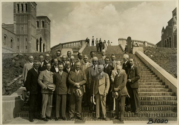 Board of Regents on Janss Steps