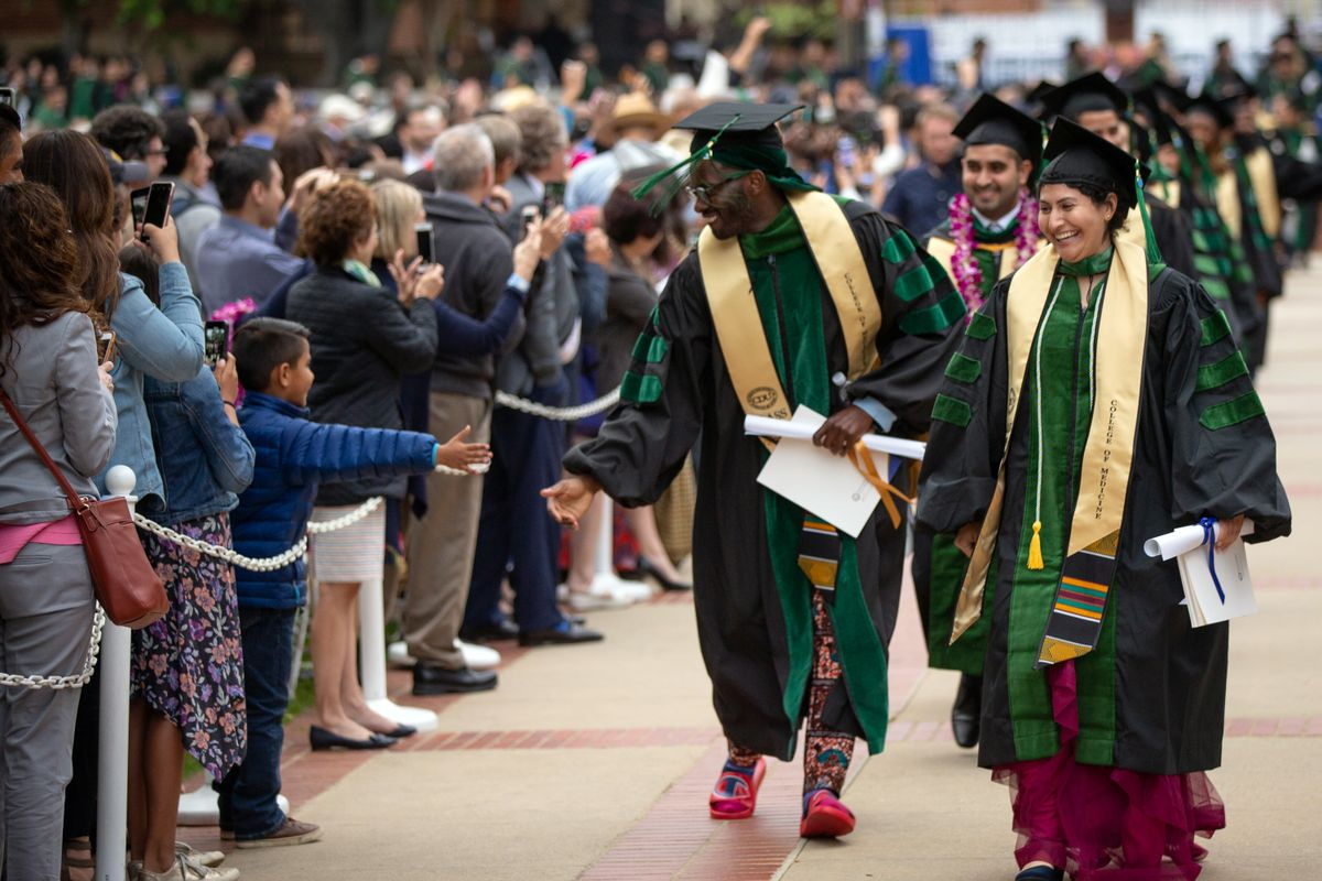 65th Hippocratic Oath ceremony at UCLA