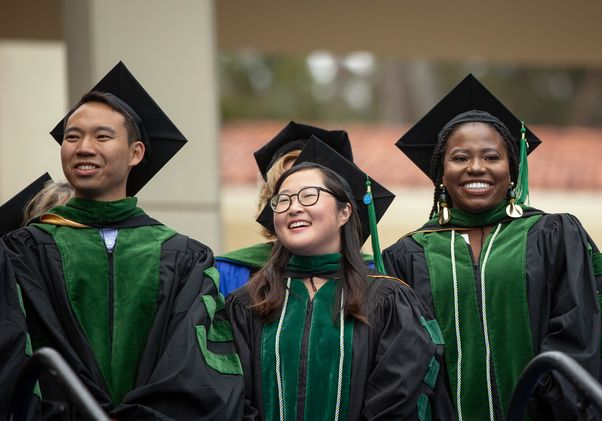 Grads at the 65th Hippocratic Oath ceremony at UCLA